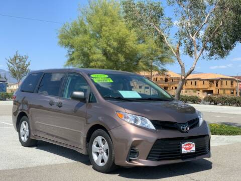 2018 Toyota Sienna for sale at Esquivel Auto Depot in Rialto CA
