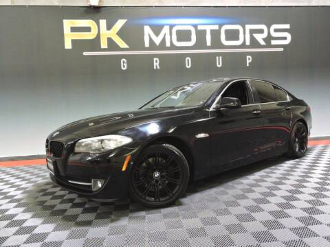 2013 BMW 5 Series for sale at PK MOTORS GROUP in Las Vegas NV