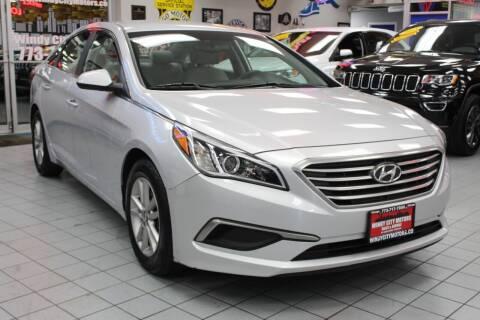 2016 Hyundai Sonata for sale at Windy City Motors in Chicago IL
