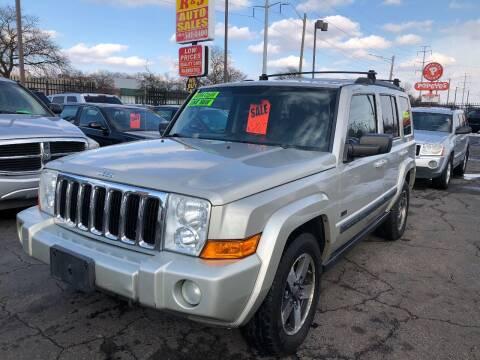 2008 Jeep Commander for sale at RJ AUTO SALES in Detroit MI