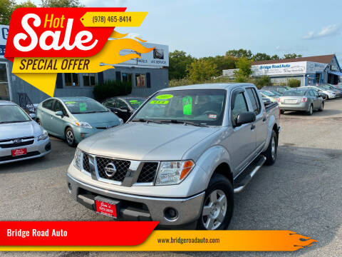 2007 Nissan Frontier for sale at Bridge Road Auto in Salisbury MA