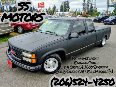 1994 Chevrolet C/K 1500 Series for sale at SS MOTORS LLC in Edmonds WA