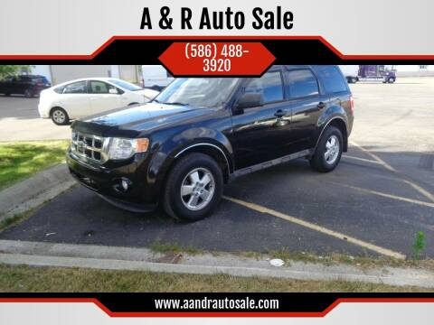 2011 Ford Escape for sale at A & R Auto Sale in Sterling Heights MI