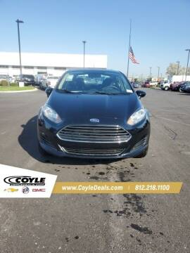 2019 Ford Fiesta for sale at COYLE GM - COYLE NISSAN in Clarksville IN