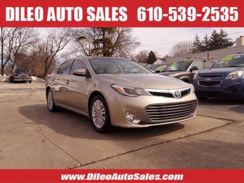 2013 Toyota Avalon Hybrid for sale at Dileo Auto Sales in Norristown PA