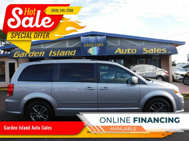 2017 Dodge Grand Caravan for sale at Garden Island Auto Sales in Lihue HI