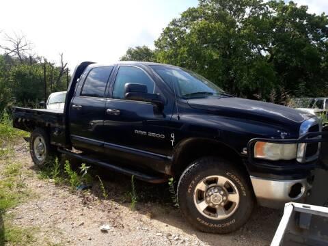 2005 Dodge Ram Pickup 2500 for sale at KK Motors Inc in Graham TX