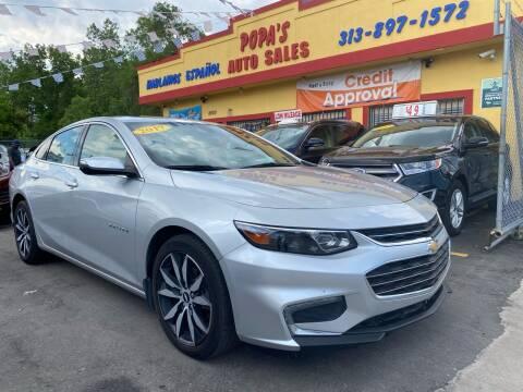 2017 Chevrolet Malibu for sale at Popas Auto Sales in Detroit MI