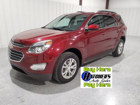2017 Chevrolet Equinox for sale at Hatcher's Auto Sales, LLC - Buy Here Pay Here in Campbellsville KY