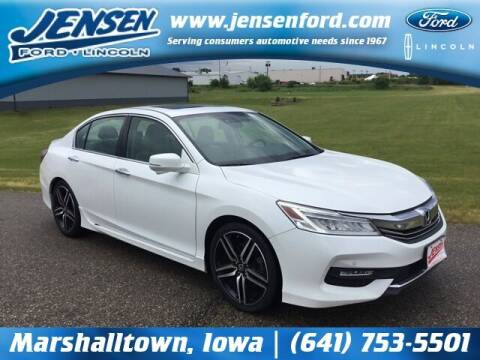2016 Honda Accord for sale at JENSEN FORD LINCOLN MERCURY in Marshalltown IA