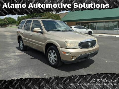 2004 Buick Rainier for sale at Alamo Automotive Solutions in San Antonio TX