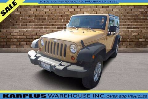 2013 Jeep Wrangler for sale at Karplus Warehouse in Pacoima CA