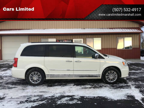 2013 Chrysler Town and Country for sale at Cars Unlimited in Marshall MN