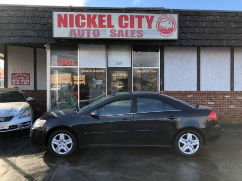 2009 Pontiac G6 for sale at NICKEL CITY AUTO SALES in Lockport NY