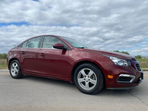 2015 Chevrolet Cruze for sale at ILUVCHEAPCARS.COM in Tulsa OK