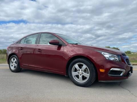 2015 Chevrolet Cruze for sale at ILUVCHEAPCARS.COM in Tulsa OK