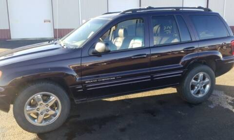 2004 Jeep Grand Cherokee for sale at Affordable 4 All Auto Sales in Elk River MN