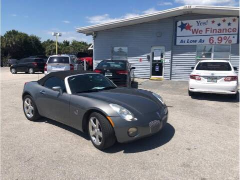 2006 Pontiac Solstice for sale at My Value Car Sales in Venice FL