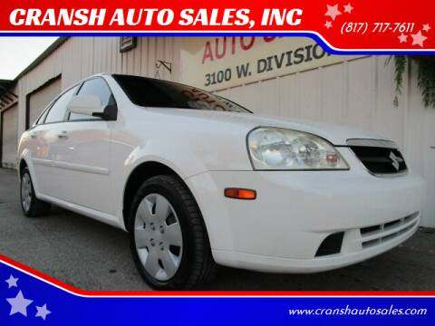 2006 Suzuki Forenza for sale at CRANSH AUTO SALES, INC in Arlington TX