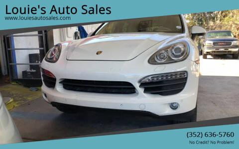 2011 Porsche Cayenne for sale at Louie's Auto Sales in Leesburg FL