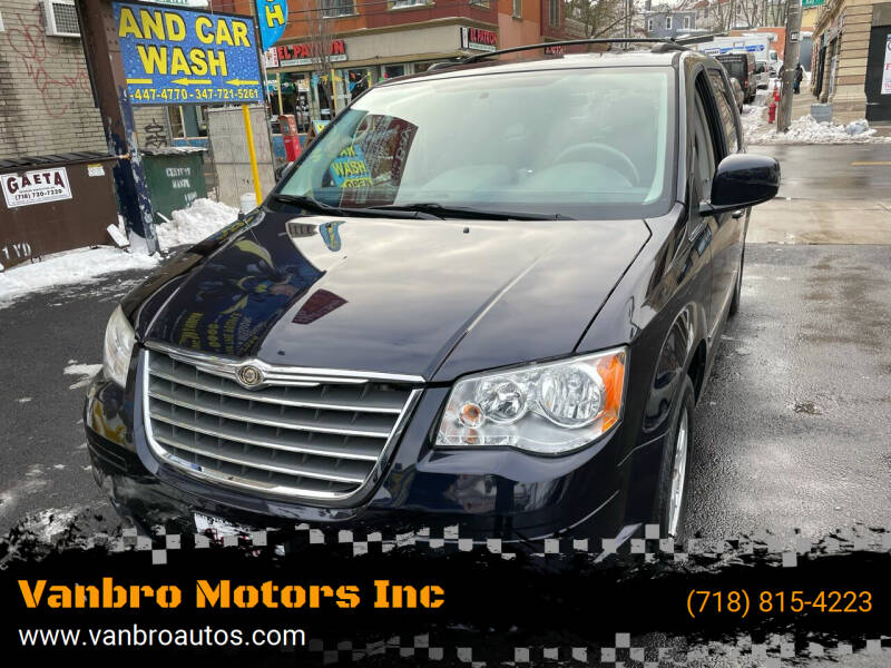 2010 Chrysler Town and Country for sale at Vanbro Motors Inc in Staten Island NY
