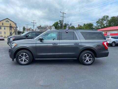 2019 Ford Expedition MAX for sale at Sisson Pre-Owned in Uniontown PA