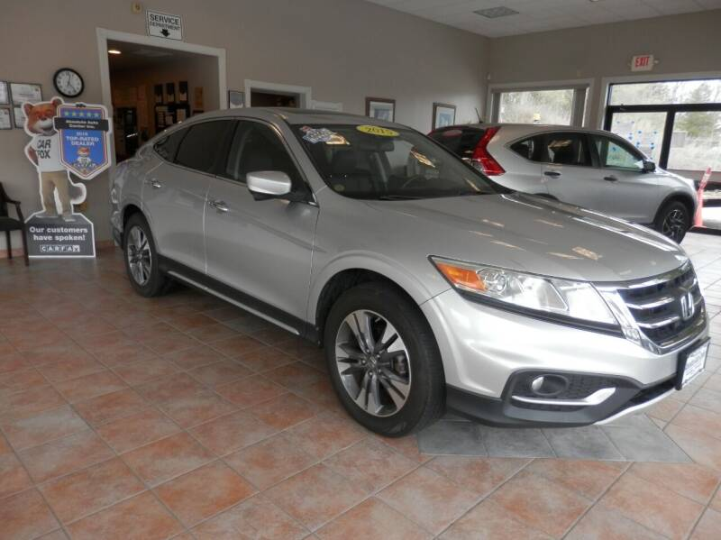 2015 Honda Crosstour for sale at ABSOLUTE AUTO CENTER in Berlin CT