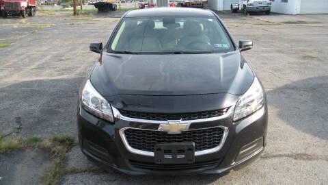 2014 Chevrolet Malibu for sale at SHIRN'S in Williamsport PA
