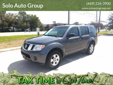 2012 Nissan Pathfinder for sale at Solo Auto Group in Mckinney TX
