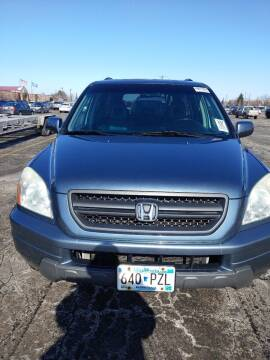 2005 Honda Pilot for sale at WB Auto Sales LLC in Barnum MN