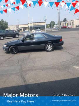 1998 Lexus ES 300 for sale at Major Motors in Twin Falls ID