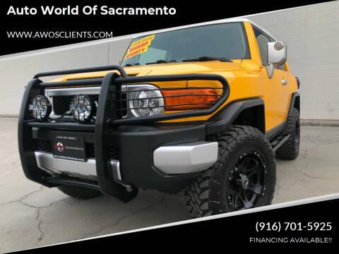 2007 Toyota FJ Cruiser for sale at Auto World of Sacramento Stockton Blvd in Sacramento CA