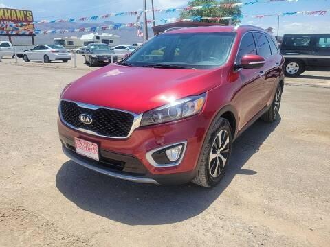 2017 Kia Sorento for sale at Bickham Used Cars in Alamogordo NM