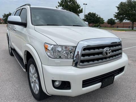 2013 Toyota Sequoia for sale at PRESTIGE AUTOPLEX LLC in Austin TX