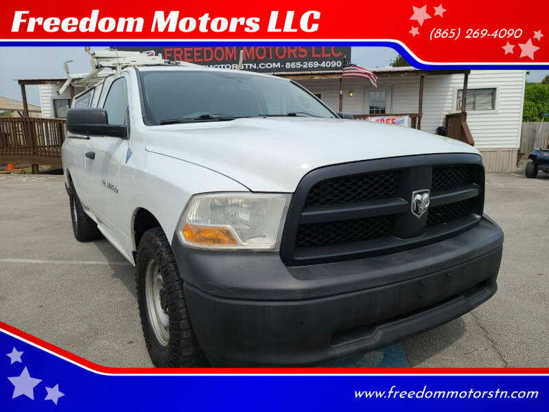 2012 RAM Ram Pickup 1500 for sale at Freedom Motors LLC in Knoxville TN