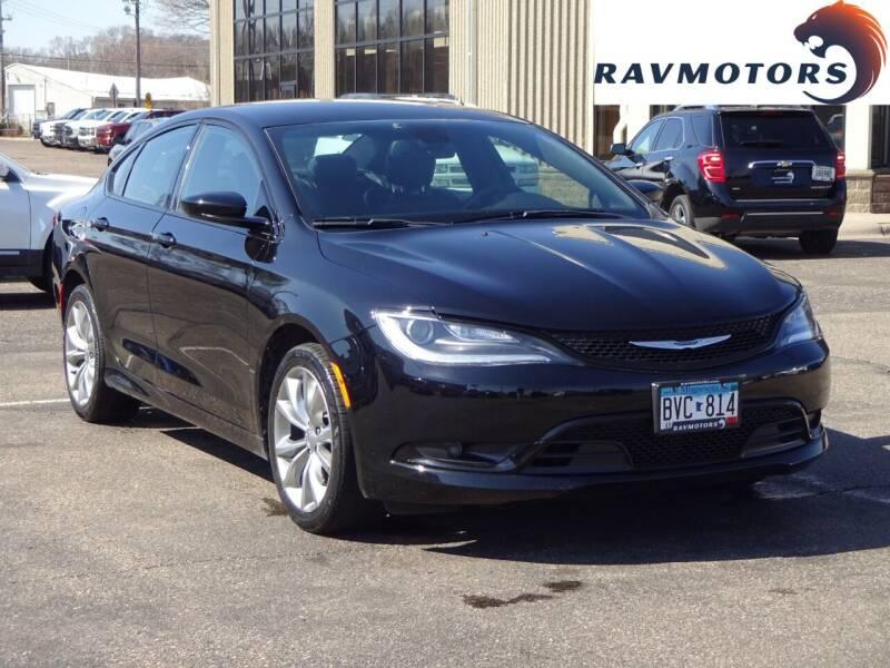 2016 Chrysler 200 for sale at RAVMOTORS 2 in Crystal MN