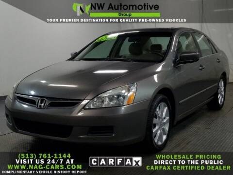 2007 Honda Accord for sale at NW Automotive Group in Cincinnati OH
