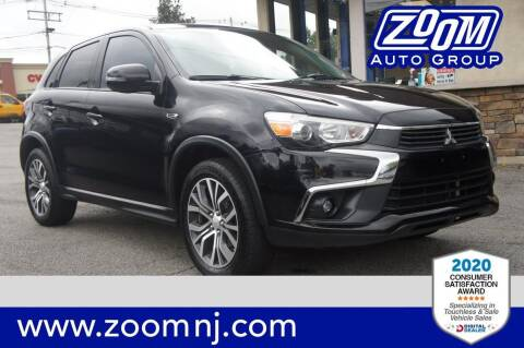 2016 Mitsubishi Outlander Sport for sale at Zoom Auto Group in Parsippany NJ