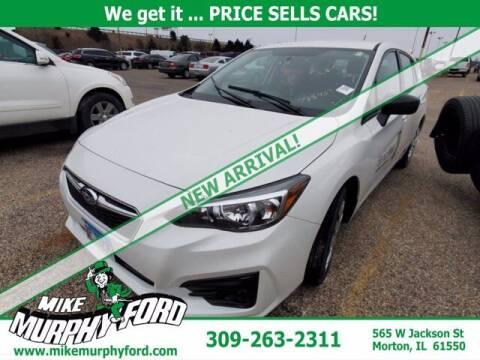 2019 Subaru Impreza for sale at Mike Murphy Ford in Morton IL