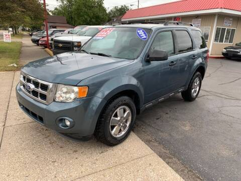 2011 Ford Escape for sale at THE PATRIOT AUTO GROUP LLC in Elkhart IN