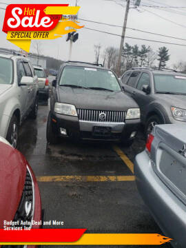 2006 Mercury Mariner for sale at Budget Auto Deal and More Services Inc in Worcester MA