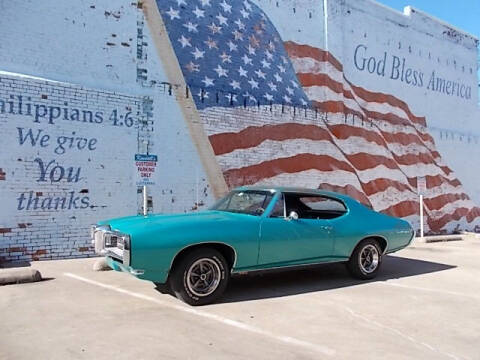 1968 Pontiac Le Mans for sale at LARRY'S CLASSICS in Skiatook OK