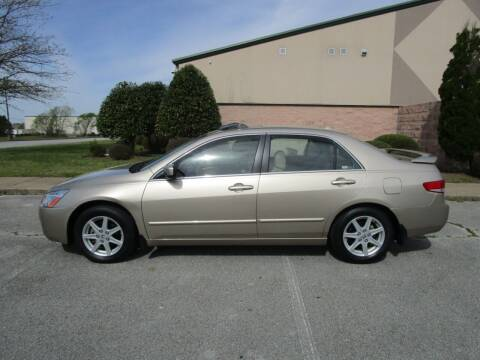 2004 Honda Accord for sale at JON DELLINGER AUTOMOTIVE in Springdale AR