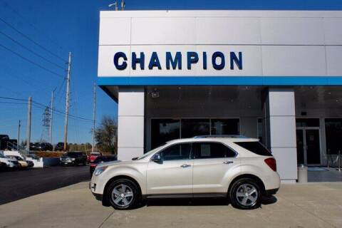 2015 Chevrolet Equinox for sale at Champion Chevrolet in Athens AL