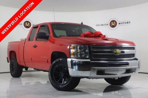 2012 Chevrolet Silverado 1500 for sale at INDY'S UNLIMITED MOTORS - UNLIMITED MOTORS in Westfield IN