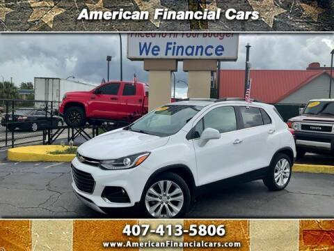 2018 Chevrolet Trax for sale at American Financial Cars in Orlando FL