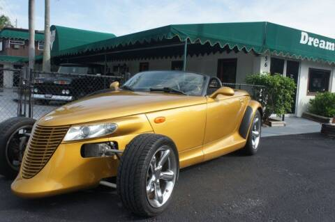 2002 Chrysler Prowler for sale at Dream Machines USA in Lantana FL