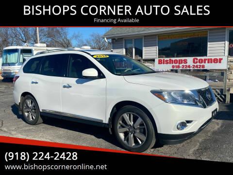 2014 Nissan Pathfinder for sale at BISHOPS CORNER AUTO SALES in Sapulpa OK