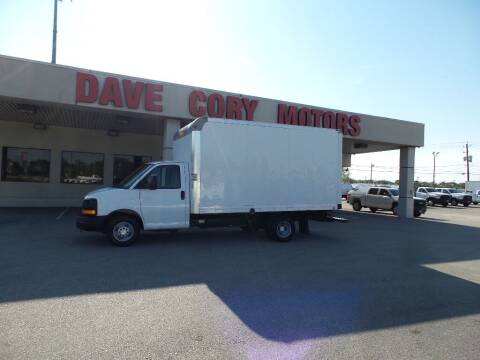 2014 Chevrolet Express Cutaway for sale at DAVE CORY MOTORS in Houston TX