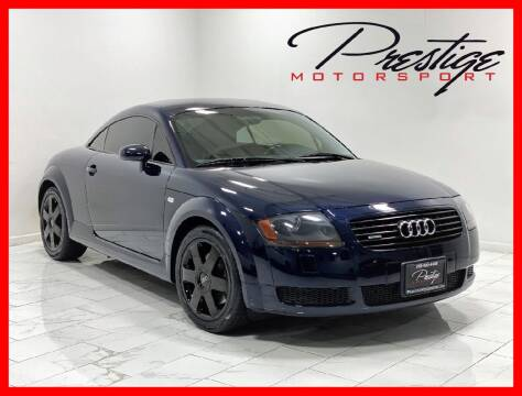 2002 Audi TT for sale at Prestige Motorsport in Rancho Cordova CA